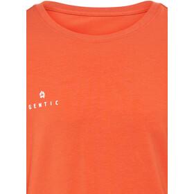 Gentic Lines Game Bluzka z długim rękawem Mężczyźni pomarańczowy
